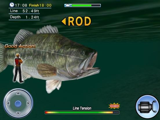 Bass Fishing 3D on the Boat HDのおすすめ画像5