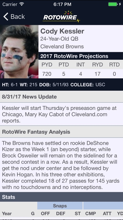 Fantasy Football Assistant '17 screenshot-4