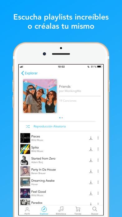 download MonkingMe Descargar Música apps 2