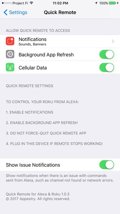 Quick Remote for Alexa & Roku screenshot-4