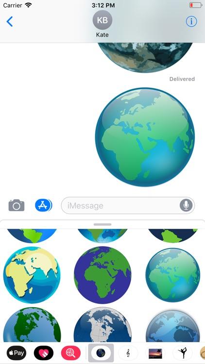Planet Earth Sticker Pack screenshot-7