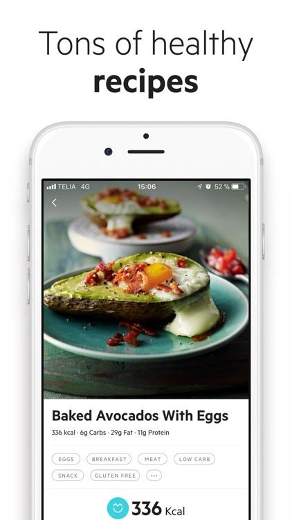 Lifesum: Diet & Health Tracker screenshot-3
