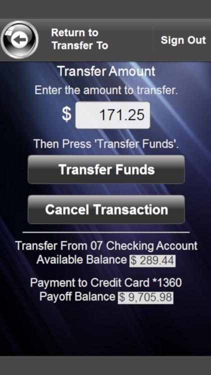 Freedom United FCU Mobile screenshot-3