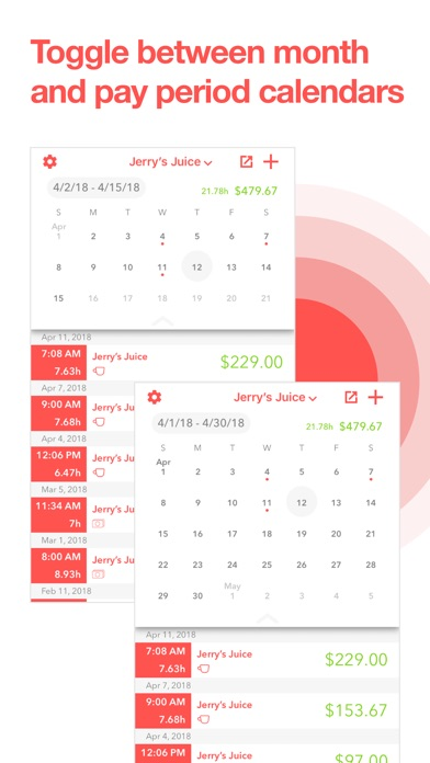 top 10 apps like hourstracker hours and pay for iphone ipad