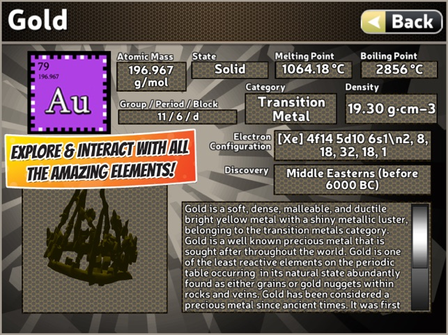 Popar periodic table on the app store popar periodic table on the app store urtaz Image collections