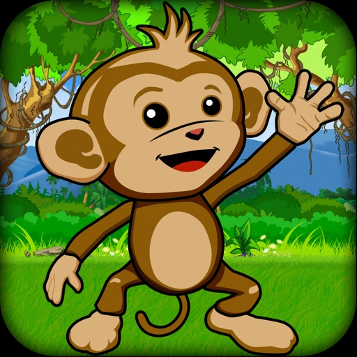 Baby Chimp Runner : Cute Game