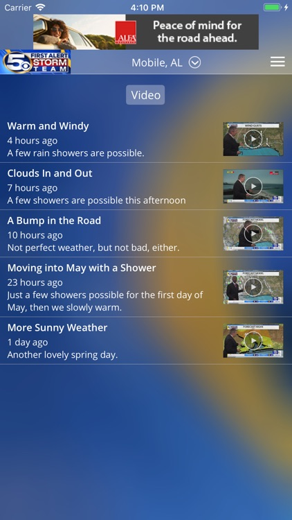 WKRG Weather screenshot-3