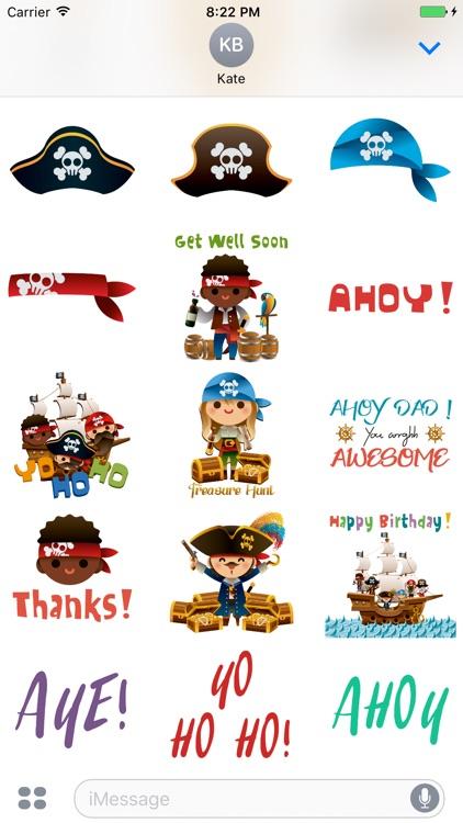 Piratemoji - Pirate Stickers and Emoji screenshot-3