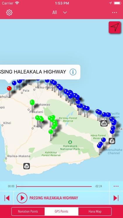 Hana GPS Guide screenshot-3