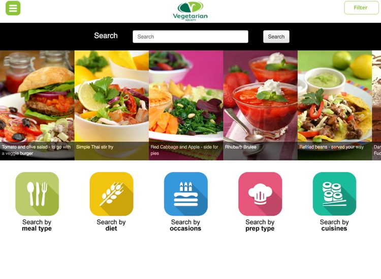 Vegetarian and vegan recipes screenshot-4