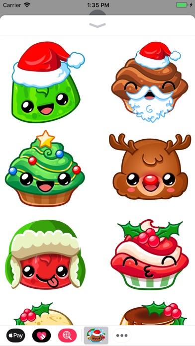 Happy Holiday Stickers screenshot 3