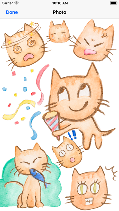 Charlotte The Cat Stickers screenshot three