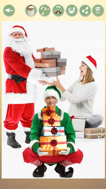 Selfie with Santa – Xmas Jokes screenshot-4