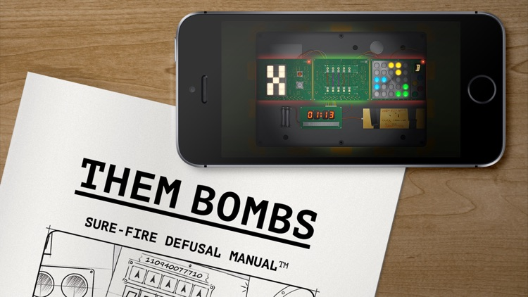 Them Bombs – co-op board game