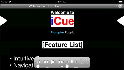 iCue by Sunshine Valley Systems (iOS, United States) - SearchMan App