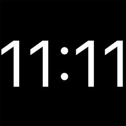 Minimalistic Bedside Clock