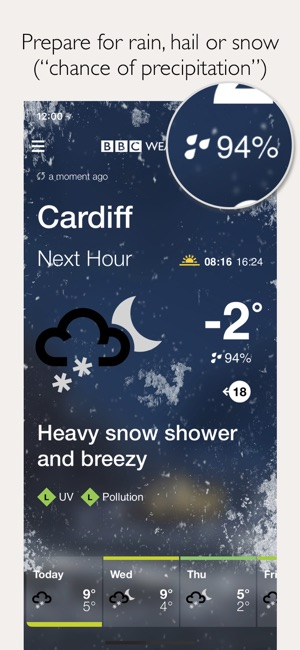 Bbc weather on the app store bbc weather on the app store publicscrutiny Choice Image