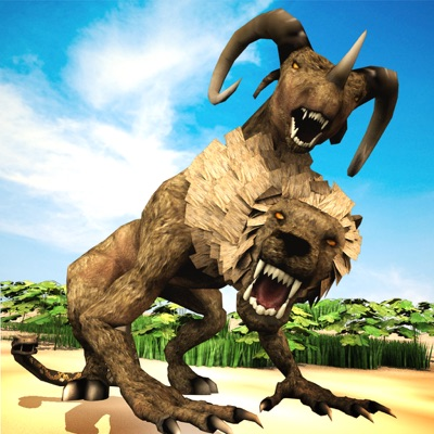 Jungle Monster Attack Sim Game ios app