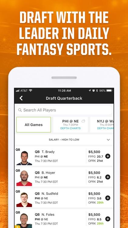 DraftKings Fantasy Sports screenshot-0