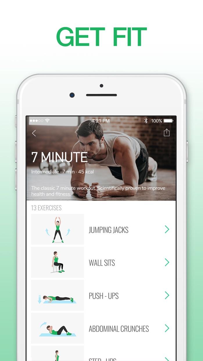 7 Minute Workout: Fitness App Screenshot