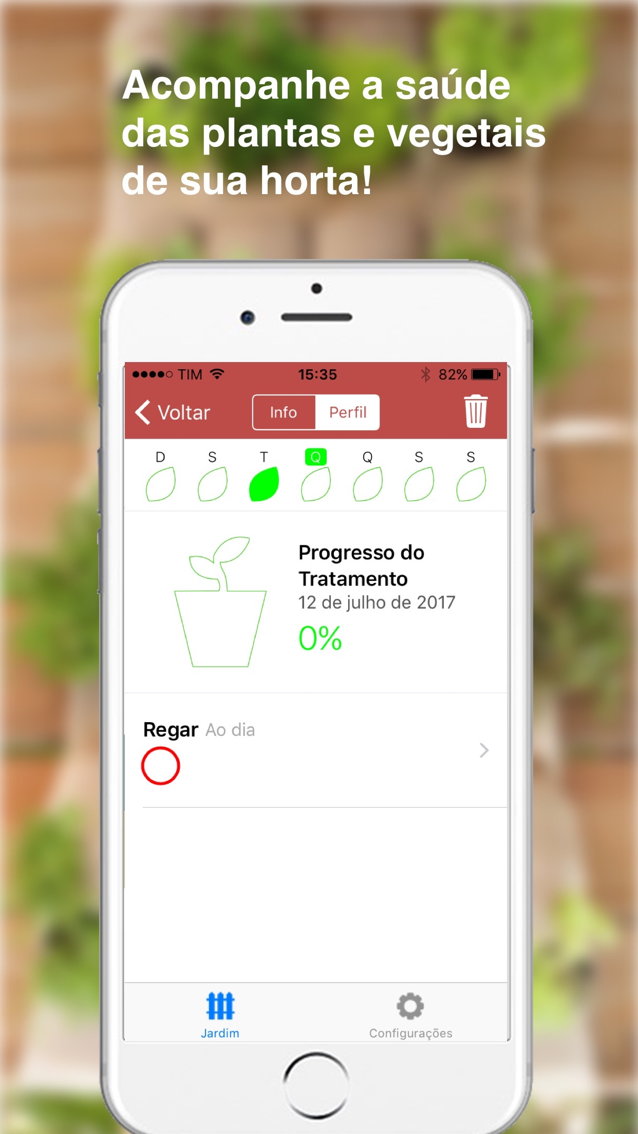 Screenshot do app Beets