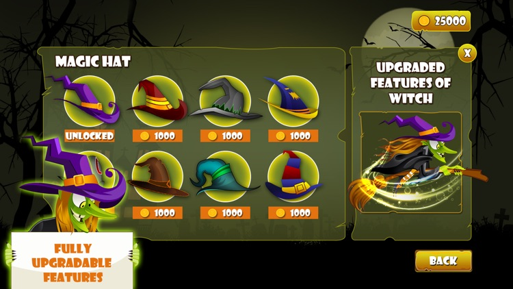 Angry Witch on Scary Run screenshot-6