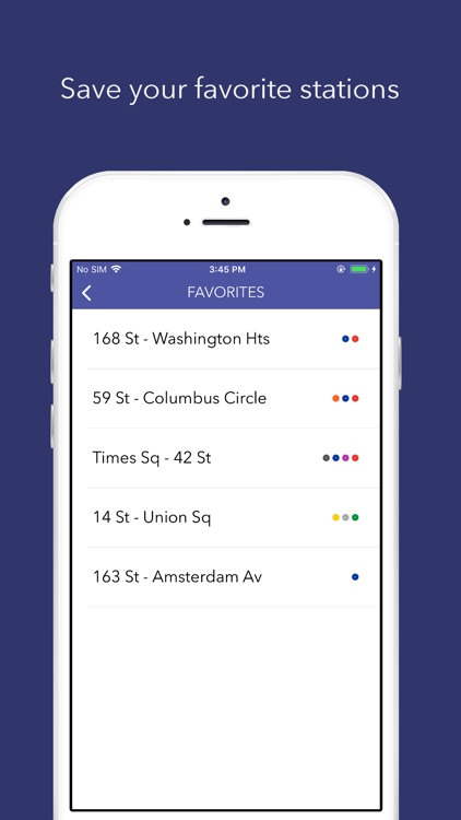 SUBWAY:NYC - Map + Train Times screenshot-3