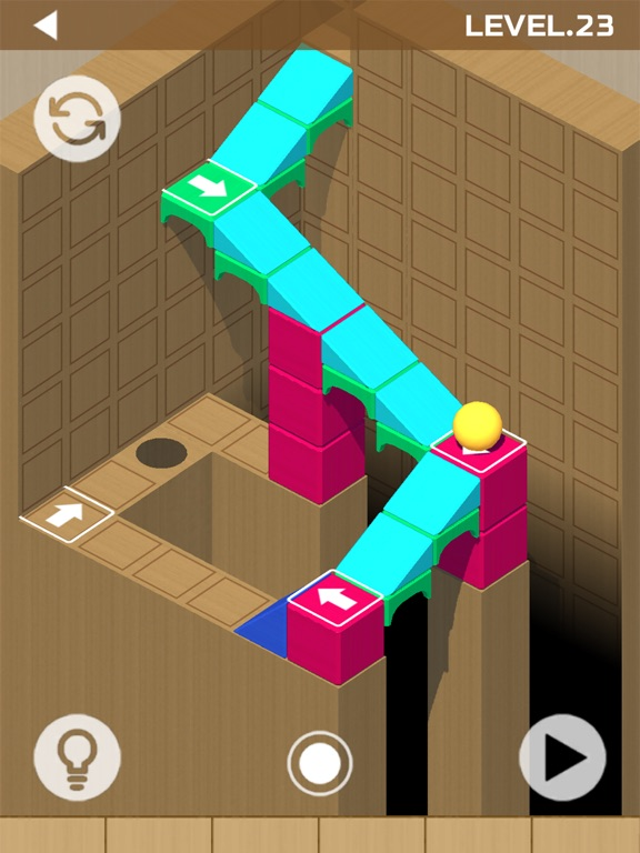Woodish Brick & Ball Puzzles screenshot 5