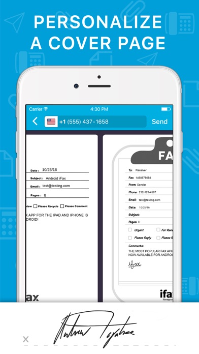 iFax: Send fax receive fax app app image