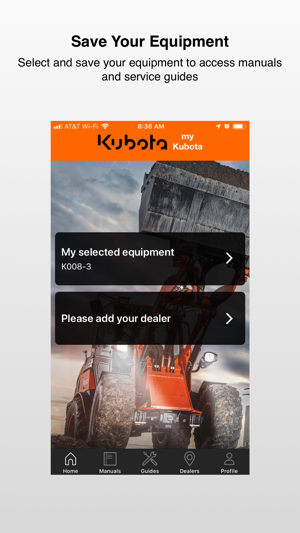 myKubota on the App Store