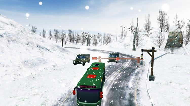 Snow Bus Drive Simulator 3D