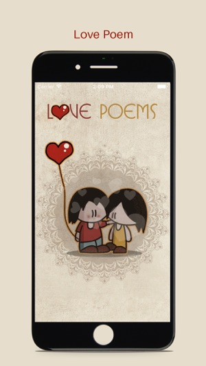 love poems apps for iphone