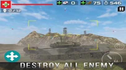 Tank Gunner Shoot 3D screenshot 3