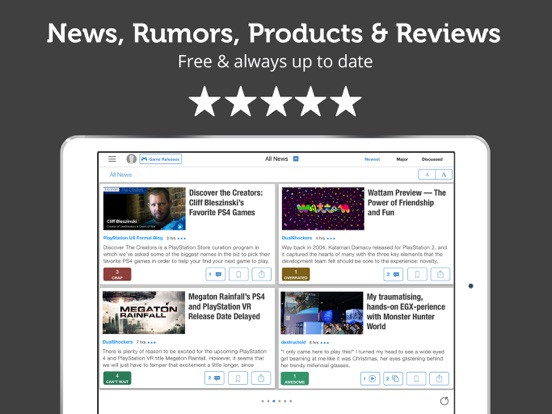 PS Unofficial News Edition - Playstation News screenshot