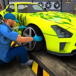 Car Mechanic Auto Fix Workshop
