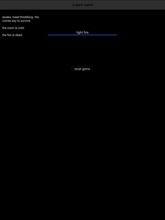 A Dark Room screenshot