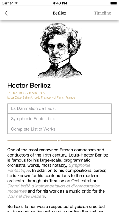 Informusic - Classical Music History Resource & Composer Encyclopedia screenshot