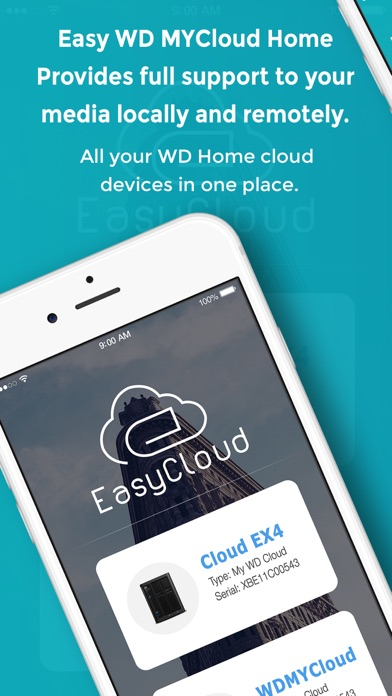 Easy WD MyCloud Home screenshot 1