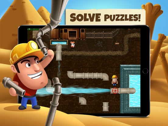 Diggy's Adventure на iPad