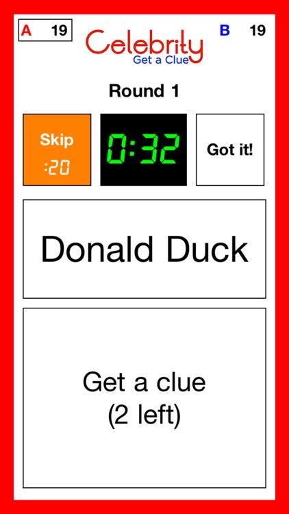 Celebrity: Get a Clue