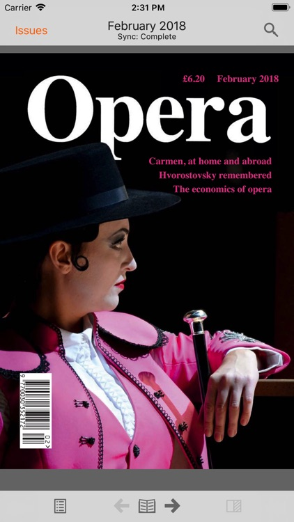 Opera Magazine screenshot-0