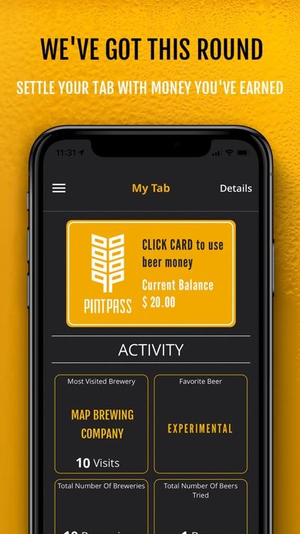 PintPass - Earn Beer Money screenshot-0