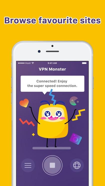 Unlimited VPN Monster proxy