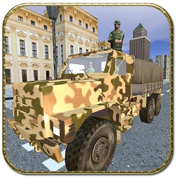 Army Truck Cargo Drive Game