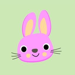 Bunny Rabbit Sticker Pack