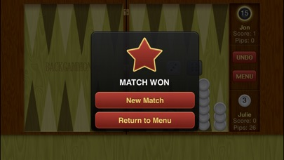 Backgammon ∙ iPhone