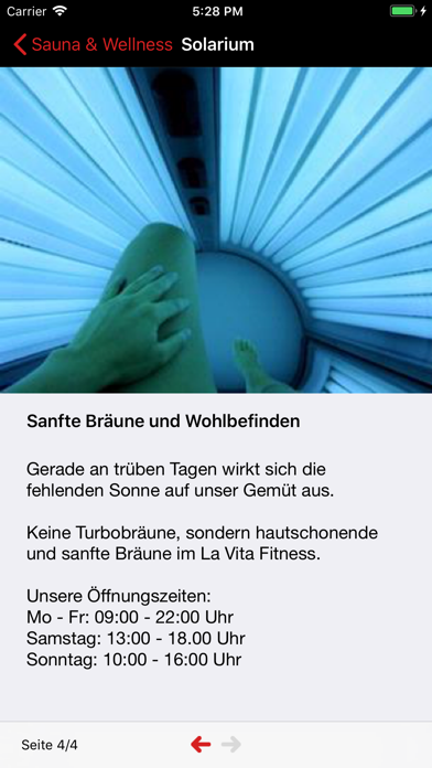 La Vita Fitness screenshot four