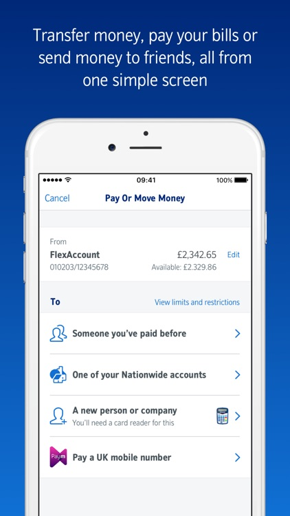 Nationwide Mobile Banking screenshot-3