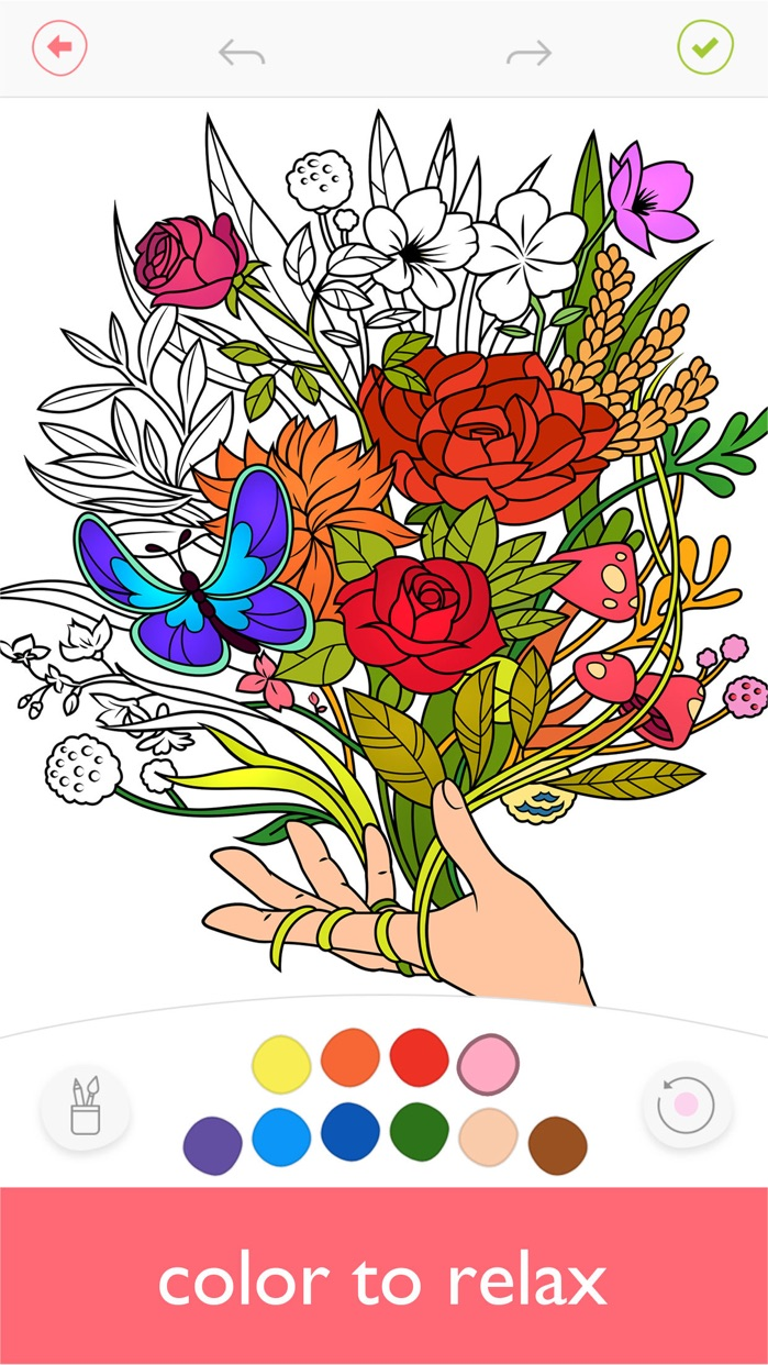 Colorfy: Coloring Book & Games Screenshot