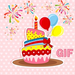 Animated Birthday Cake GIF Stickers